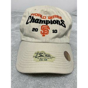 SF  2010 World Series Champions Fall Classic Hat F